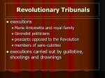 revolutionary tribunals