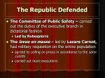 the republic defended