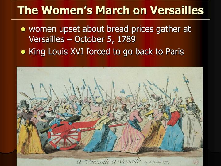the women s march on versailles n.