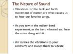 the nature of sound1