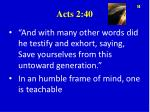 acts 2 40