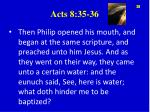 acts 8 35 36