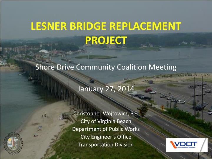 lesner bridge replacement project n.