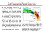 ti 2 alc nanocrystalline mg matrix composites michel w barsoum drexel university dmr 0736218
