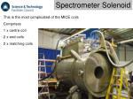 spectrometer solenoid