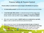 process safety process control