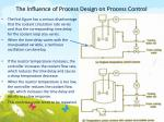 the influence of process design on process control6