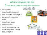what everyone can do e co citizen attitudes also help reduce pollution