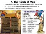 a the rights of man