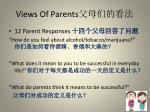 views of parents