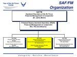 saf fm organization