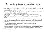 accessing accelerometer data