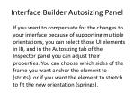interface builder autosizing panel