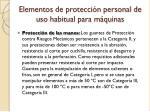 elementos de protecci n personal de uso habitual para m quinas2