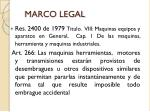 marco legal1