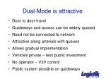 dual mode is attractive