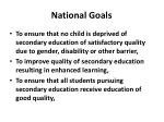 national goals1