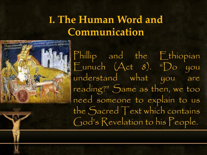 I the human word and communication