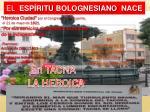el esp ritu bolognesiano nace
