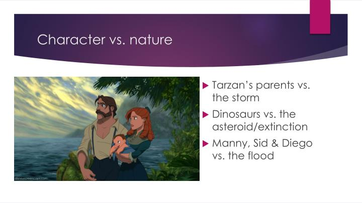 Character vs. nature