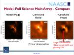 model full science main array compact