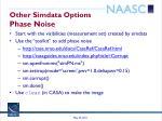 other simdata options phase noise1
