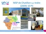 msp de chatillon sur indre 2009 10 ps