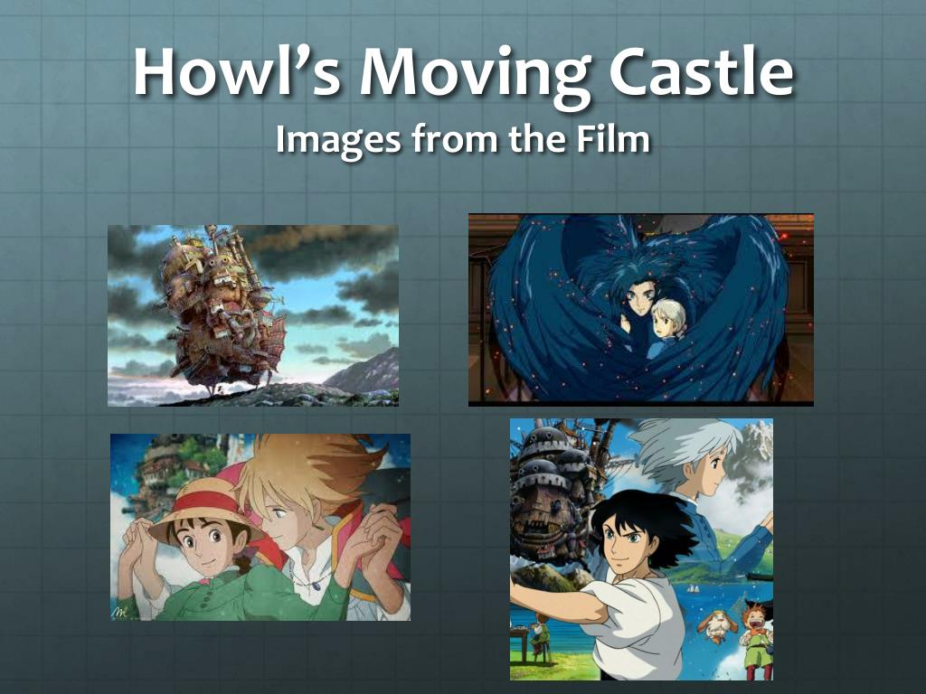 ppt howl s moving castle images from the film powerpoint
