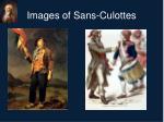 images of sans culottes
