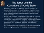the terror and the committee of public safety