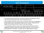gps modulation