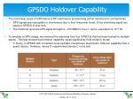 gpsdo holdover capability