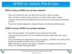gpsdo vs cesium pros cons