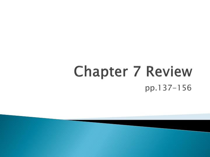 chapter 7 review n.