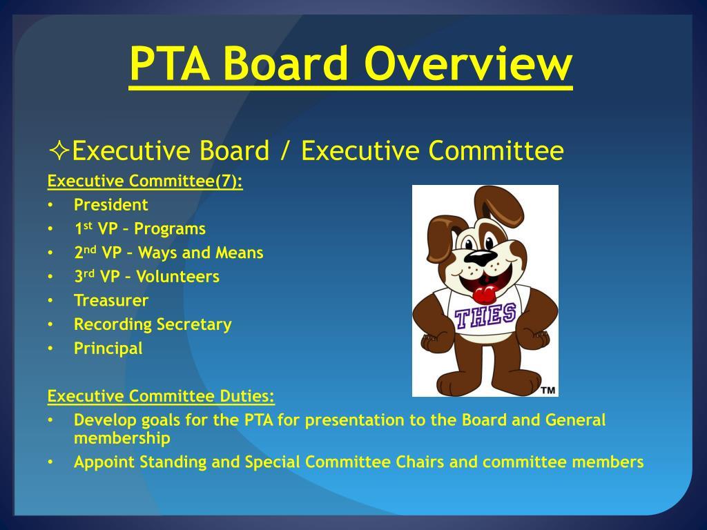 PPT - PTA Transition Dinner PowerPoint Presentation - ID:2086879
