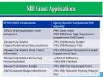 nih grant applications