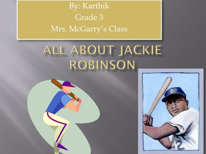 all about jackie robinson n.