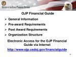 ojp financial guide
