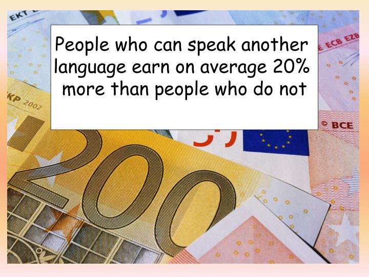 People who can speak another