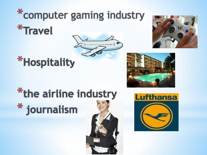 computer gaming industry