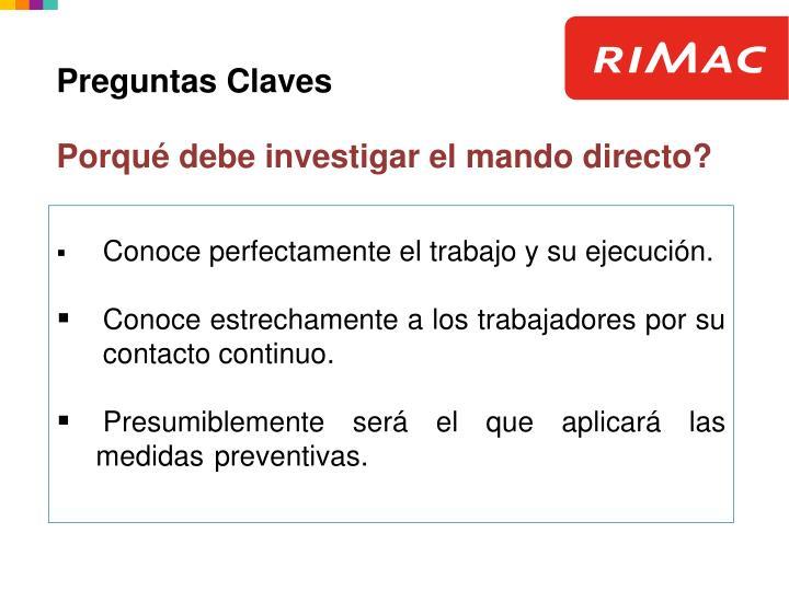 Preguntas Claves