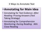 3 ways to annotate text