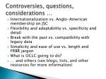 controversies questions considerations1