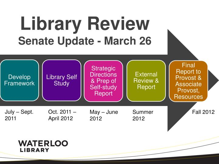 library review senate update march 26 n.