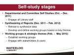 self study stages