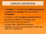 catalyst definition