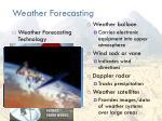 weather forecasting1