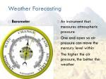 weather forecasting2