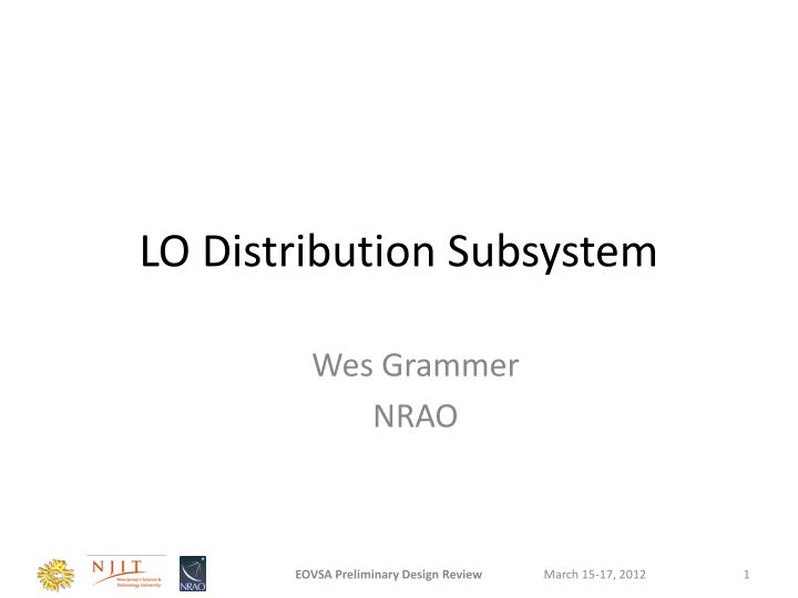 lo distribution subsystem n.
