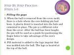 step by step process steps 5 6